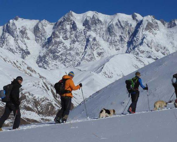scialpinismo Caucaso